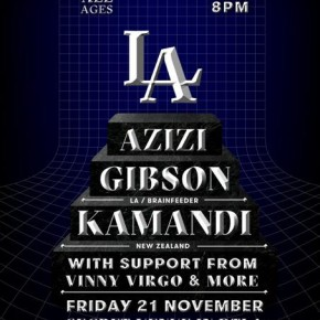 Azizi Gibson - Secret Show Los Angeles 11/21