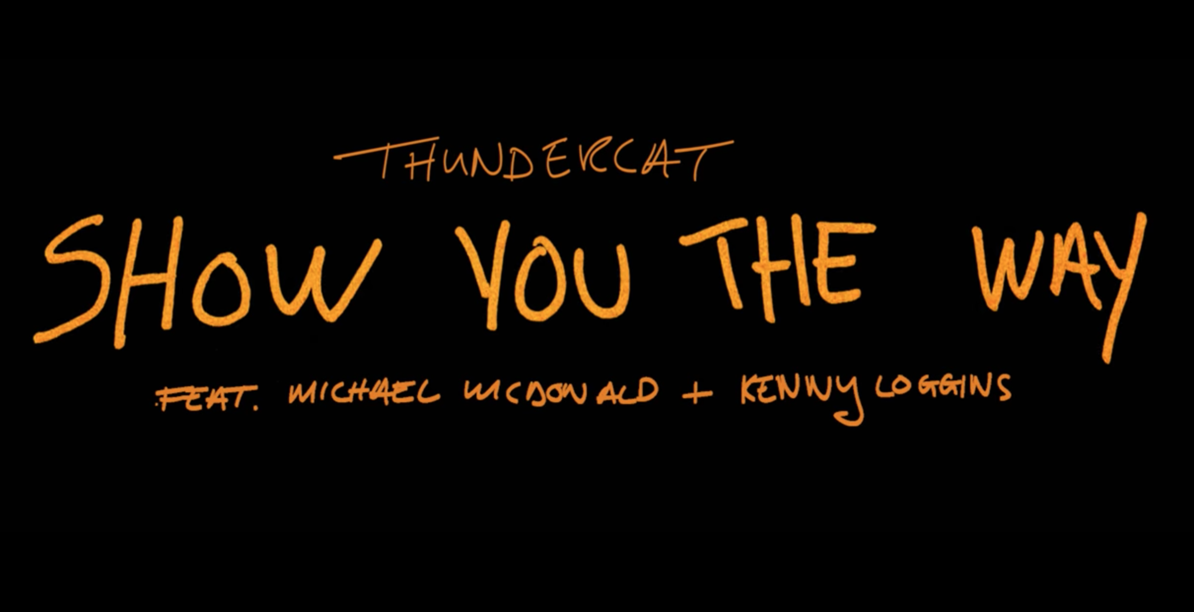 "Thundercat - ""Show You The Way (feat. Michael McDonald & Kenny Loggins)"" (Official Video)"