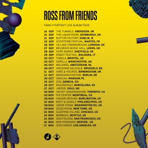 Ross From Friends Family Portrait: Tour Announce