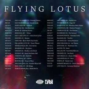 Flying Lotus 3D North American Tour w/ Brandon Coleman, Salami Rose Joe Louis & PBDY